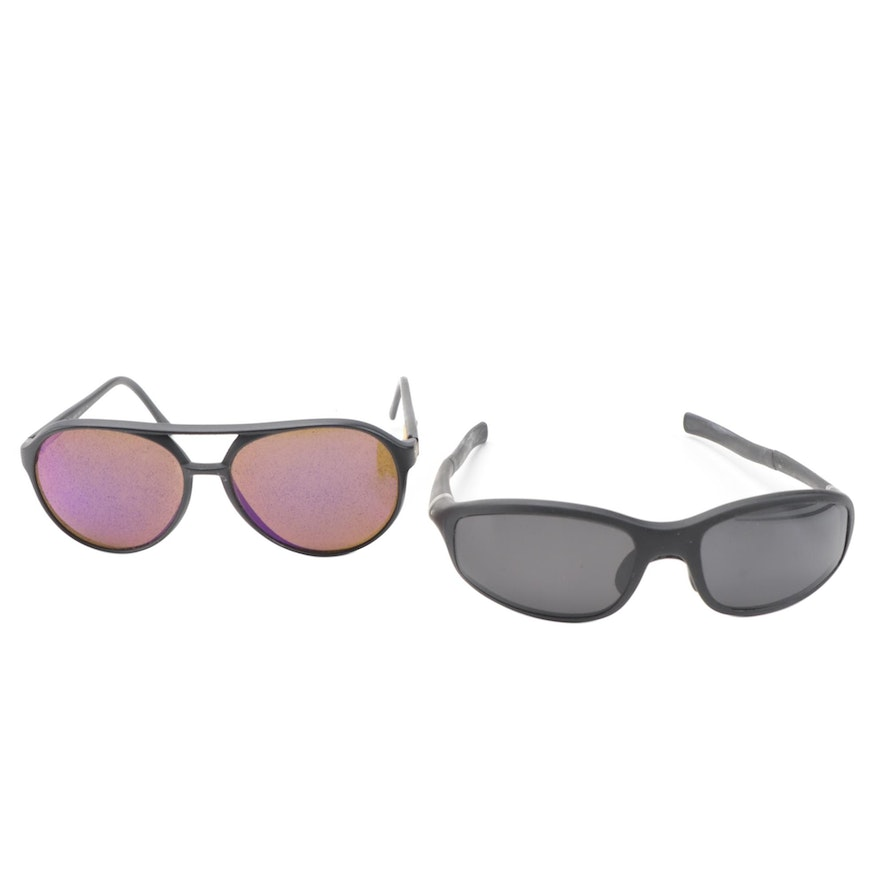 Revo and TAG Heuer Aviator and Sport Sunglasses with Cases