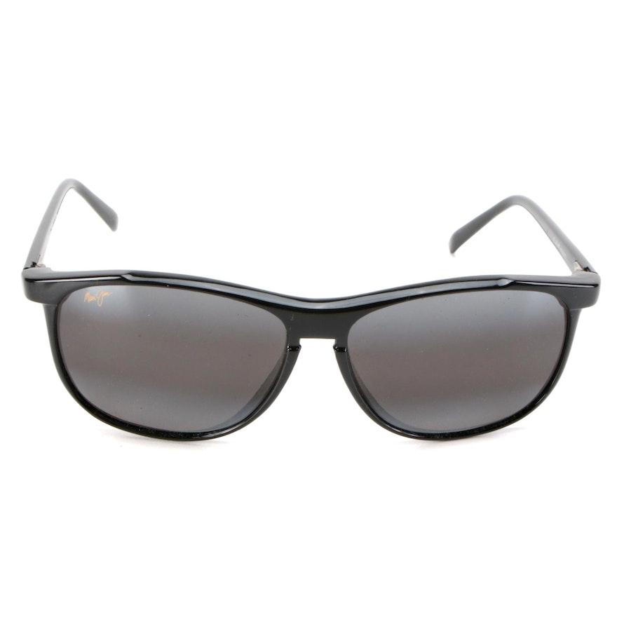 Maui Jim MJ178 II Voyager 2 Black Acetate Frame Sunglasses with Case