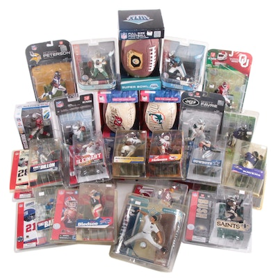 McFarlane and Madden NFL Action Figures with Eli Manning, Tony Romo and More
