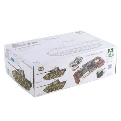 Takom Unassembled Model Kit of WWII German Panther Tank