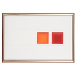 Geometric Abstraction Serigraph after Josef Albers