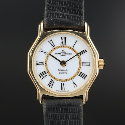 Baume & Mercier for Tiffany & Co. 14K Wristwatch