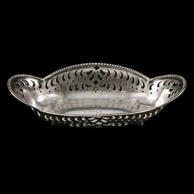Tiffany & Co. Pierced Sterling Silver Console Bowl, 1904