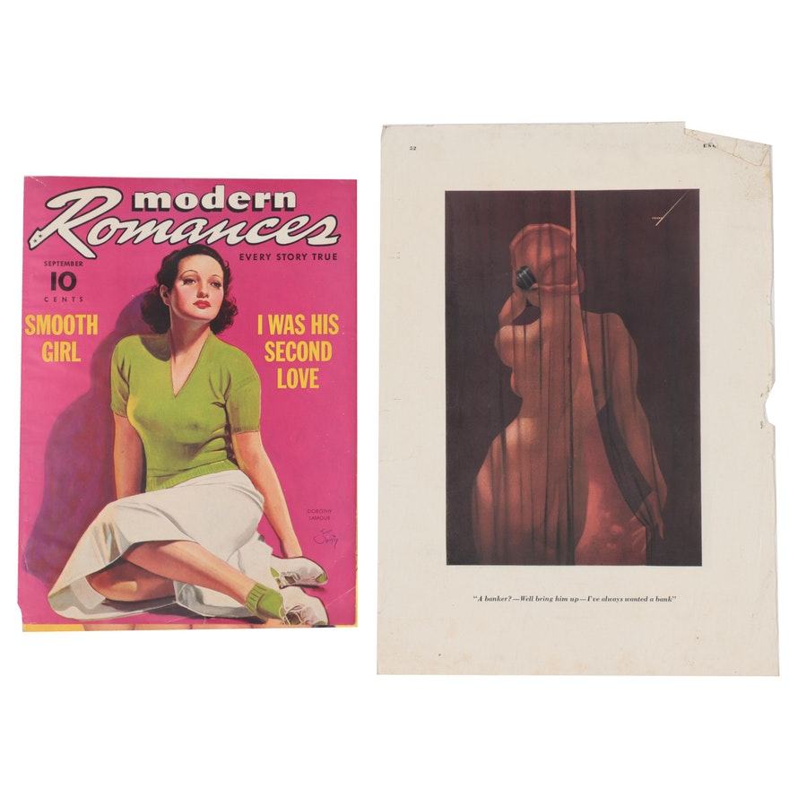 Offset Lithographs after Earl Christy of Magazine Covers & Fashion Illustration