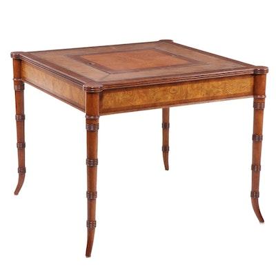 "Ethan Allen ""Newport"" Regency Style Reversible Games Table"