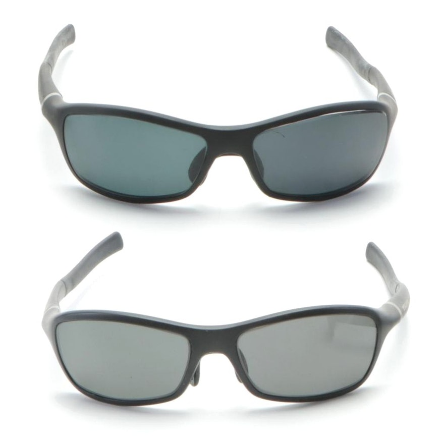 TAG Heuer Arise Collective TH6007 Wrap Sunglasses with Cases