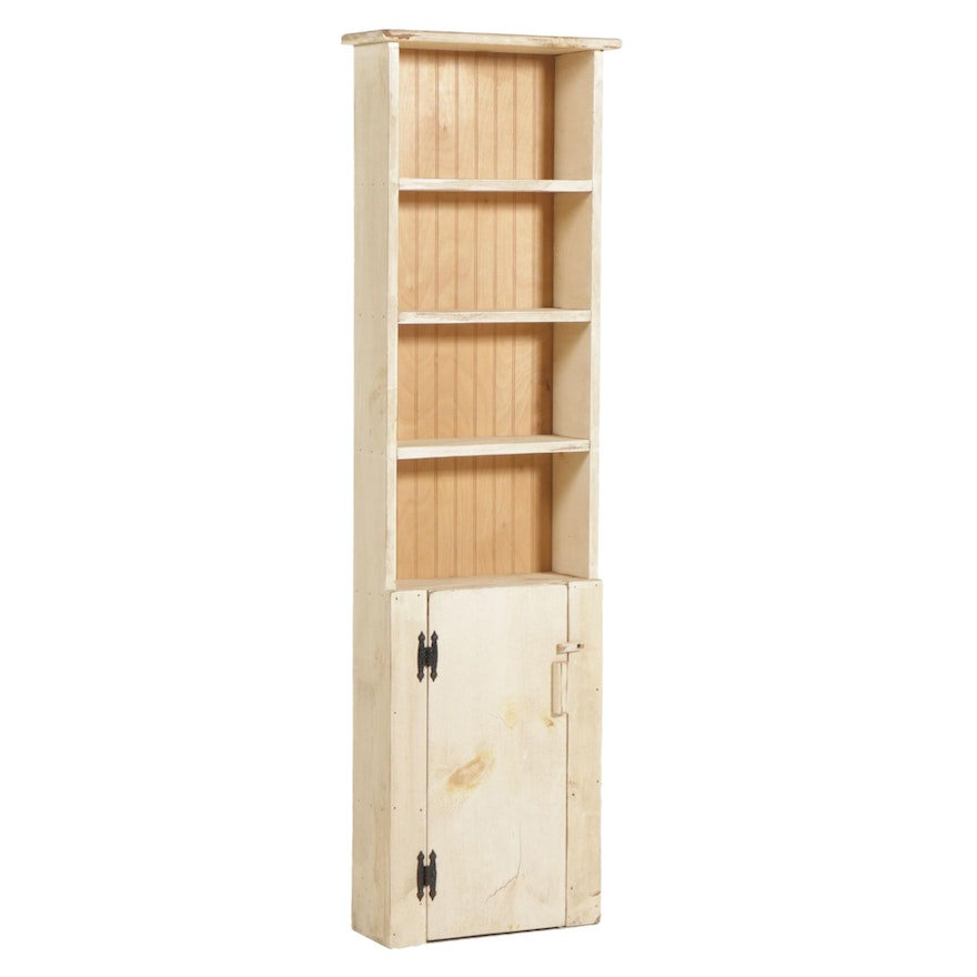 Painted Pine Bookcase, Late 20th to 21st Century