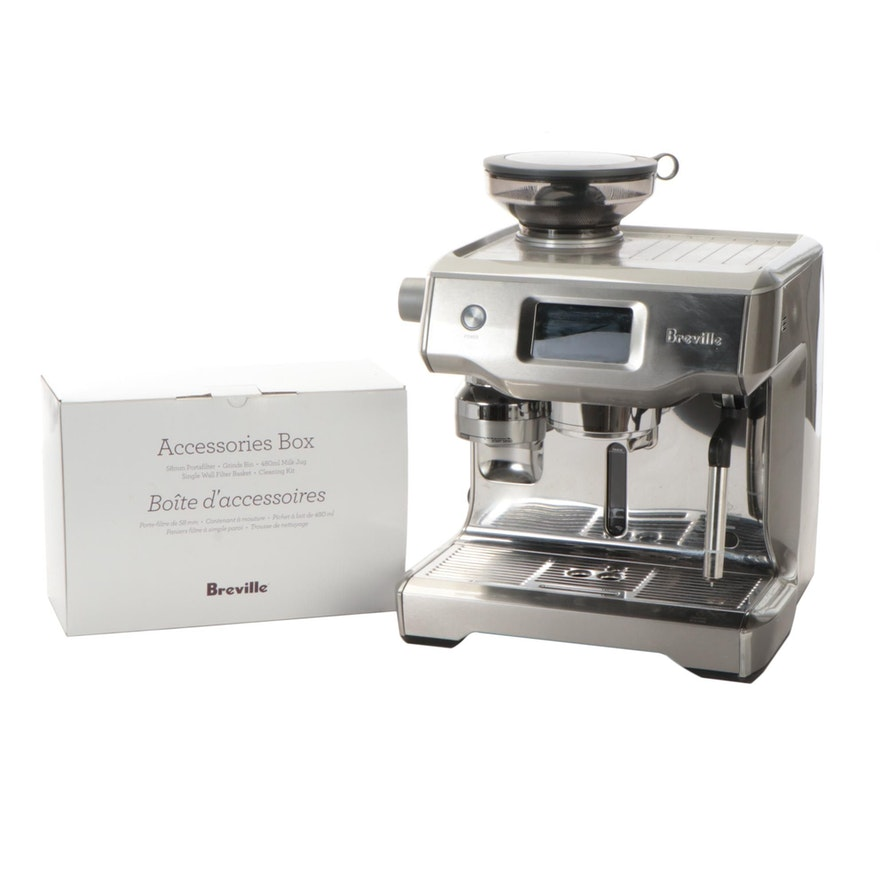 "Breville ""The Oracle Touch"" Screen Espresso Machine, Contemporary"