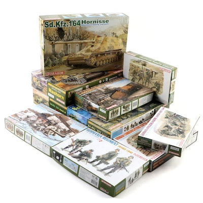 Dragon Military WWII German Military Vehicle and Infantry Model Kits