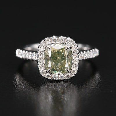 18K 1.95 CTW Diamond Ring