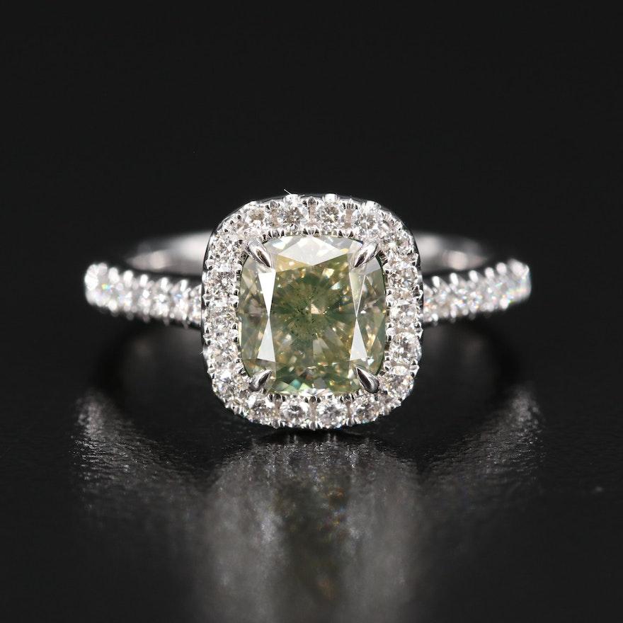 18K 1.95 CTW Diamond Ring