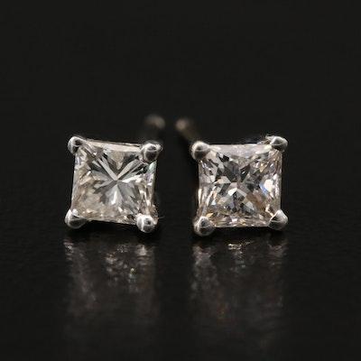 14K 0.46 CTW Diamond Stud Earrings