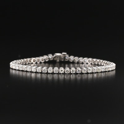 14K 3.50 CTW Diamond Tennis Bracelet