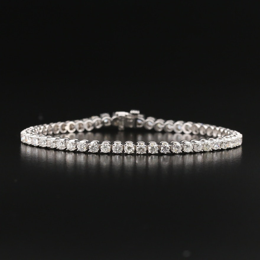 14K 3.50 CTW Diamond Tennis Bracelet