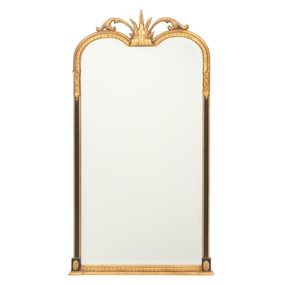 Gilt Beveled Pier Mirror