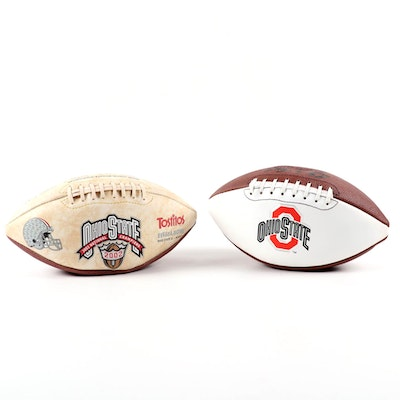 Baden and Fotoball Sports Ohio State Buckeyes Footballs with Original Packaging