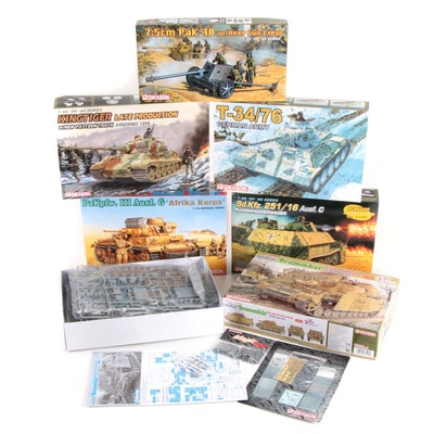 Dragon Military WWII German Miniature Kits