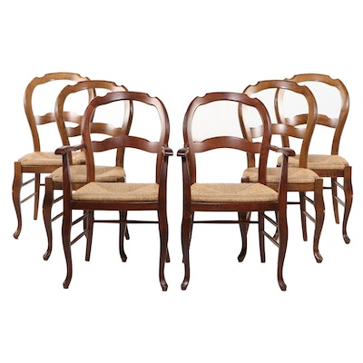 Pottery Barn French Provincial Style Dining Chairs