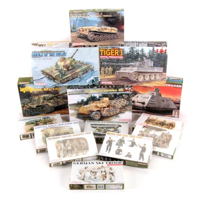 Dragon Unassembled WWII German Military Vehicle Model Kits