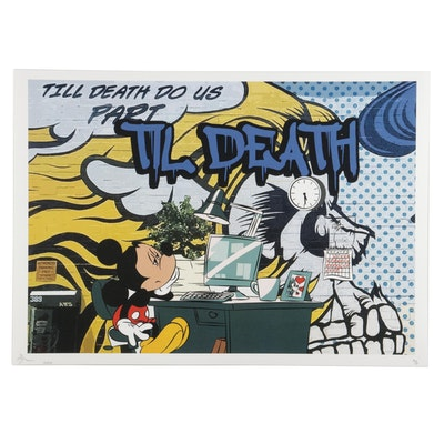 Death NYC Pop Art Mickey Mouse Graphic Print, 2020