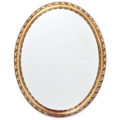 Gilt and Molded Plastic Mirror, Mid to Late 20th Century