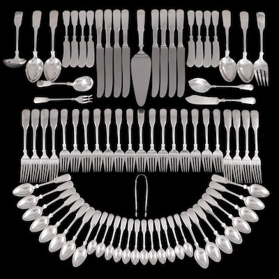 "International ""1810"" and Other Sterling Silver Flatware and Serving Utensils"