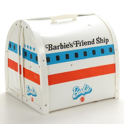 "Mattel United Airlines ""Barbie's Friend Ship"" Airport Play Case"