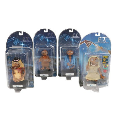 E.T. The Extra-Terrestrial Limited Edition Collectible Action Figures