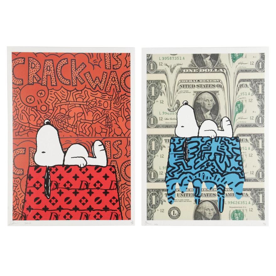 "Death NYC Pop Art Graphic Prints ""Snoop,"" 2020"