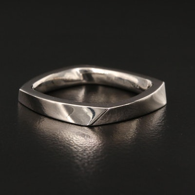 """Frank Gehry for Tiffany & Co. 18K """"Torque"""" Ring"""
