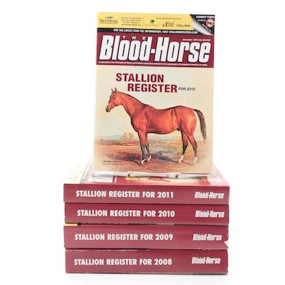 """""""The Blood-Horse Stallion Register,"""" 2008–2012"""