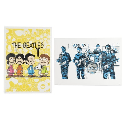 Death NYC Pop Art The Beatles Graphic Prints, 2020