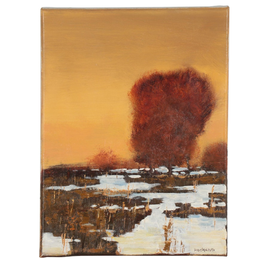 Stephen Hedgepeth Landscape Oil Painting, 21st Century