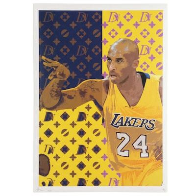 Death NYC Pop Art Kobe Bryant Graphic Print, 2020