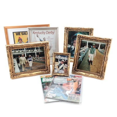 Autographed Photo Prints of Julie Krone, D. Wayne Lukas, and More