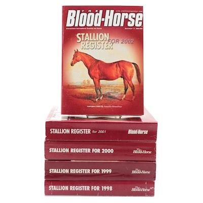 """""""The Blood-Horse Stallion Register,"""" 1998–2002"""