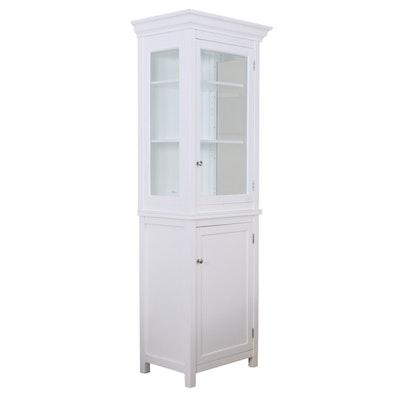 Pottery Barn White Linen Closet