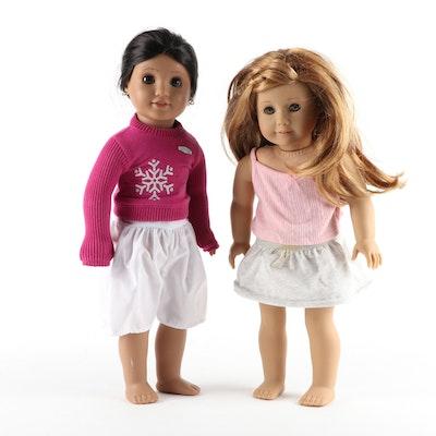 American Girl Dolls Mia St. Clair and Josefina Montoya