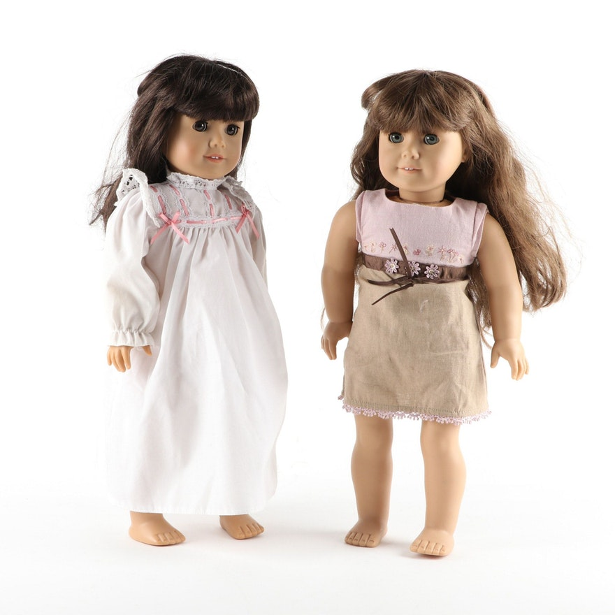 American Girl Dolls Molly McIntire and Just Like Me