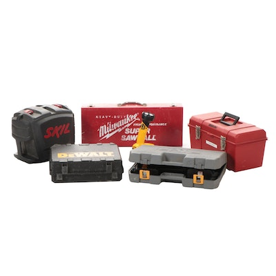 Bosch Sander, Milwaukee Sawzall, Dewalt and Ryobi Drills and Flashlight