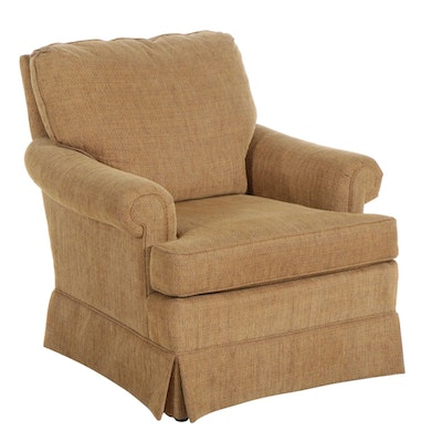 Fashion House Furniture Chenille Upholstered Armchair