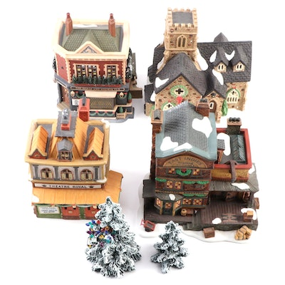 "Department 56 ""Dickens' Village"" Porcelain Buildings and Accessories"