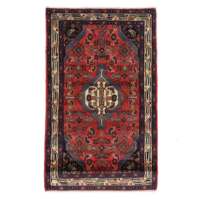3'4 x 5'5 Hand-Knotted Area Rug