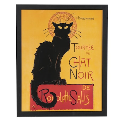 Offset Lithograph after Théophile Steinlen of Tournée du Chat Noir, circa 2000