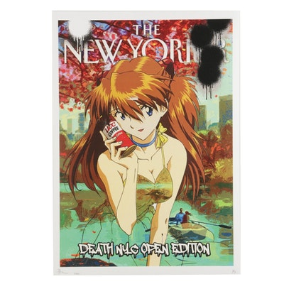 "Death NYC Pop Art Graphic Print ""OPXA9,"" 2021"