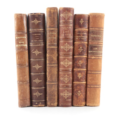 French Language Books by Victor Hugo, Henri Franck, and More