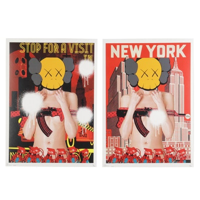 Death NYC Pop Art Limited Edition Graphic Prints, 2020