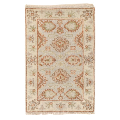 2' x 3'2 Hand-Knotted Accent Rug