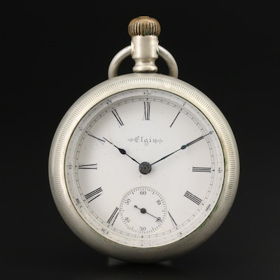 1902 Elgin 18 Size Pocket Watch