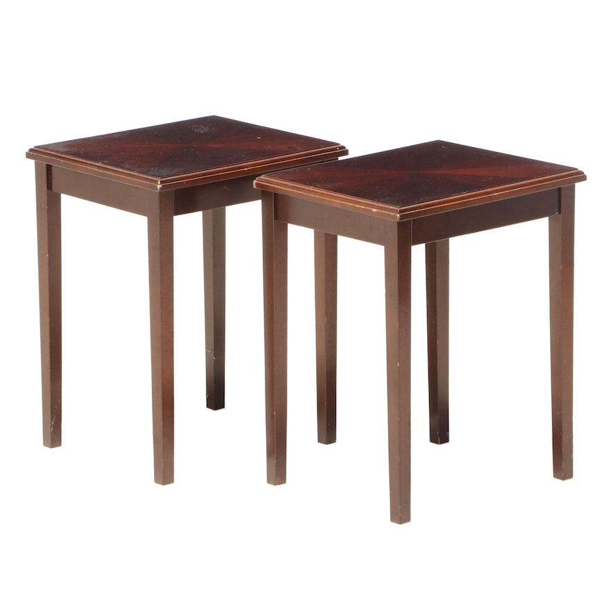 Pair of The Bombay Company Accent Tables